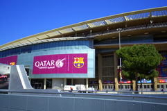 Camp Nou stadium,Barcelona,Spain Royalty Free Stock Images