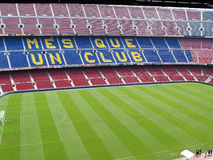 Camp Nou stadium in Barcelona, Spain Stock Photography