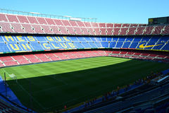 Camp nou stadium in barcelona Stock Photo