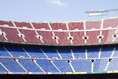 Camp Nou stadium, Barcelona Royalty Free Stock Photo