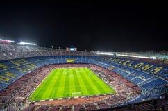 Camp Nou stadium before Champions League Royalty Free Stock Photo