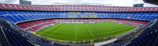 Camp Nou stadium FC Barcelona Stock Photography
