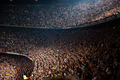 Camp Nou Stadium after the match against Osasuna Royalty Free Stock Image