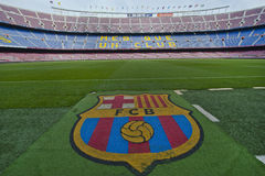 Camp Nou Stadium Stock Images