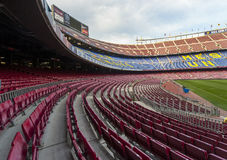 Camp Nou Stadium Royalty Free Stock Photos