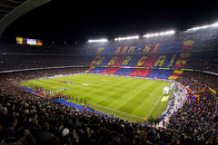 Camp Nou stadium Stock Photography