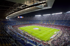 Camp Nou stadium Royalty Free Stock Photo