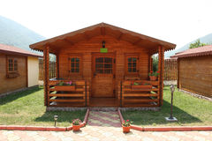 Camp recreation cabin Stock Image