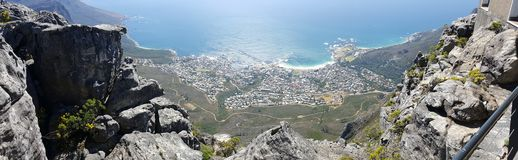 Camp& x27; s Baai Kaapstad Stock Afbeelding