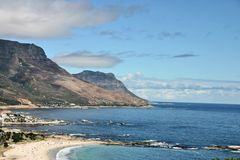Camp S Bay Near Cape Town Royalty Free Stock Image