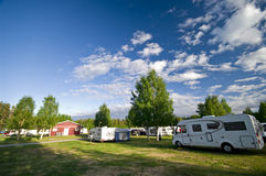 Camp site royalty free stock photo