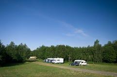 Camp site royalty free stock photos