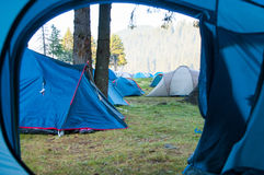 Camp site Stock Photo