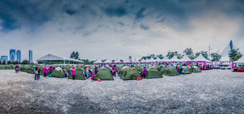 Camp Site Stock Photo