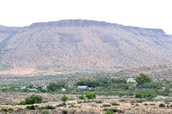 Camp site in the Karoo National Park Royalty Free Stock Image