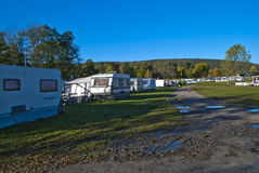 Camp site october 2012 Stock Photos