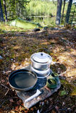 Camp Stove Royalty Free Stock Images