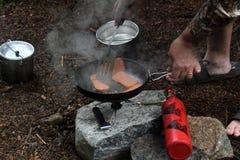 Camp stove Royalty Free Stock Photos