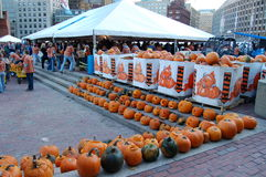 Camp Sunshine Pumpkin Festival in Boston Stock Photo