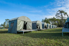 Camp tent Royalty Free Stock Image