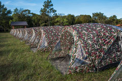 Camp tent Stock Photography