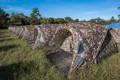 Camp tent Royalty Free Stock Photo