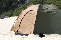 Camp tent Stock Photo
