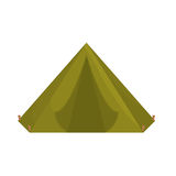 Camp where the military rest icon image Stock Images