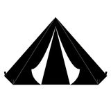 Camp where the military rest icon image Stock Photo