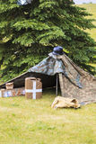 Camp WW II Photographie stock libre de droits