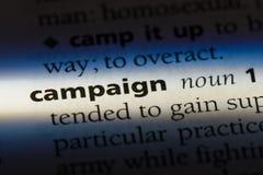 campaña imagenes de archivo