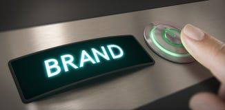 Campaña de la activación de la marca Imagen de archivo