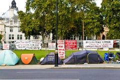 Campaña de la paz Foto de archivo libre de regalías