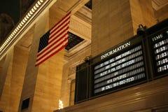 Campaña de la seguridad de patria en la estación de Grand Central Fotos de archivo