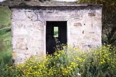 Campaña de piedra de la casa Foto de archivo