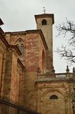 Campaña magnífica de la catedral de Santa Maria In Siguenza Arquitectura, viaje, renacimiento Fotografía de archivo