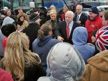 Campañas de McCain en Ohio 1 foto de archivo libre de regalías