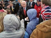 Campañas de McCain en Ohio 3 imagen de archivo libre de regalías