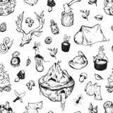 Campa stock illustrationer