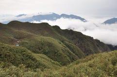 campa berg Royaltyfri Fotografi