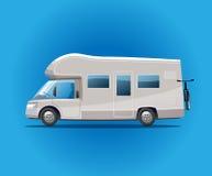 campa flyttning för auto campare Royaltyfria Foton