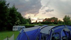 Campa i Norfolk 2014 Royaltyfria Bilder