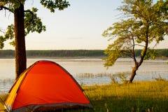 campa lake royaltyfri bild
