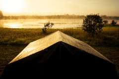 campa lake Arkivfoto