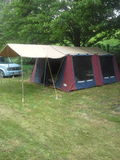 campa New Zealand Royaltyfria Foton