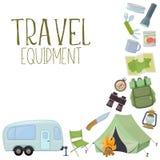 Campa och turismutrustning