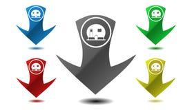 Campa symbol, tecken, illustration Royaltyfria Foton