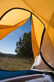 campa tent Royaltyfri Fotografi