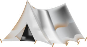 campa tent Arkivfoton