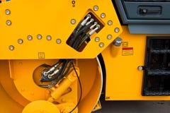 campactor asfaltowa pomarańcze Fotografia Stock